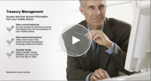 View the Treasury Management Video Guide